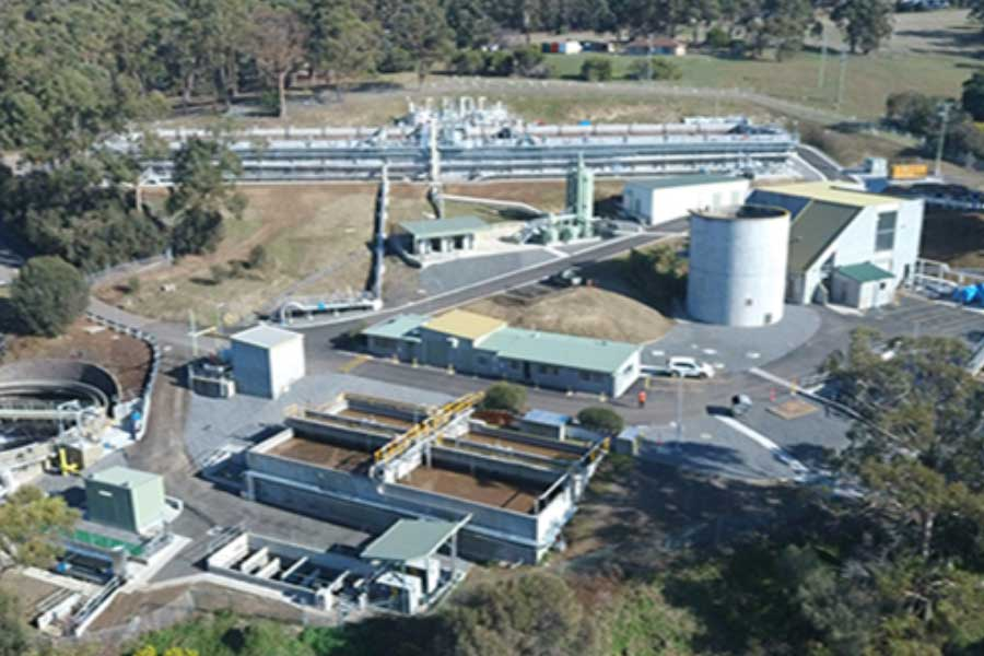 Blackmans Bay Sewage Treatment Plant